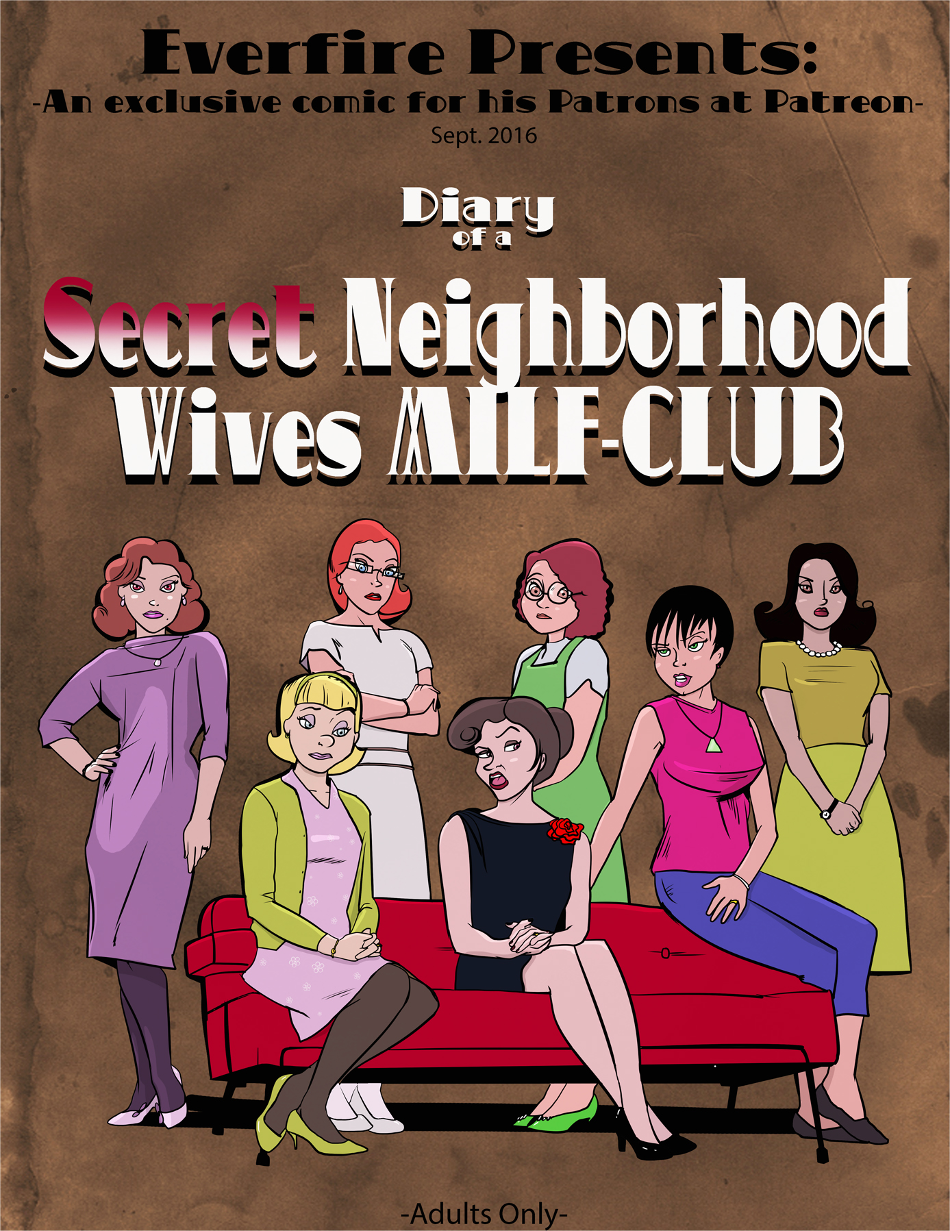 EVERFIRE - DIARY OF A SECRET NEIGHBORHOOD WIVES MILFCLUB