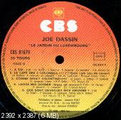 Joe Dassin - Le Jardin Du Luxembourg (1976) [Original France]